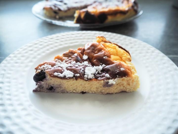 Fluffy diet cheesecake